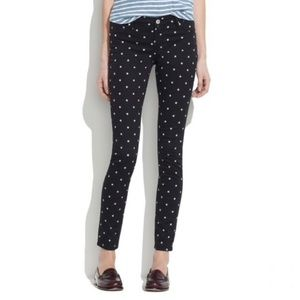 BlankNYC X Madewell  | Black Polka Dot Pants 26